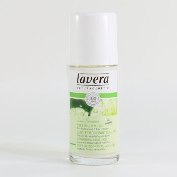 LAVERA Soft Deo Roll-On Lime Sensation, 50 ml Flasche