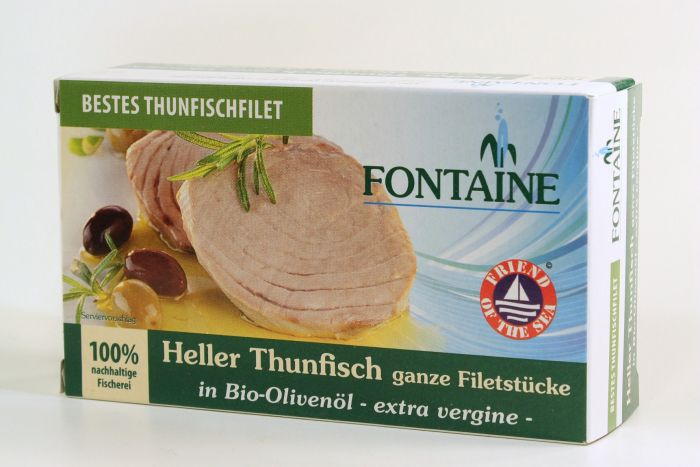 FONTAINE Thunfisch Hell in Olivenöl 120 g