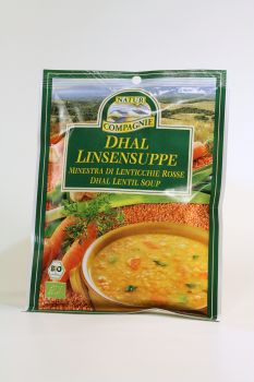 NATUR COMPAGNIE Dhal Linsensuppe 60 g