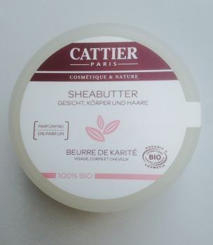 CATTIER Sheabutter 100g